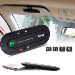 Multipoint Speakerphone Wireless Bluetooth Handsfree Car Kit