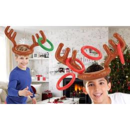 Inflatable Reindeer Antler Game