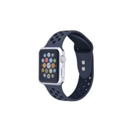 Breathable Silicone Sport Band for Apple Watch Series