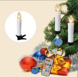 Remote Control  Xmas Party LED Light Candle