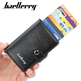 Automatically Anti-Theft RFID Card Wallet
