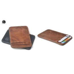 Genuine Cow leather for 5 cards holder