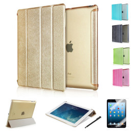 Ultrathin Silk Leather Case cover