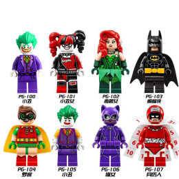 Super Heroes Collectible Building Blocks Mini Action Figures Brick Kids Toys