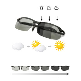 Smart Change Color Sun Glasses Polarized Driving Glasses