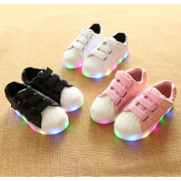 Kids Colorful glowing sneakers
