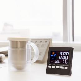 Digital Weather Forecast Station Kids LCD Alarm Clock