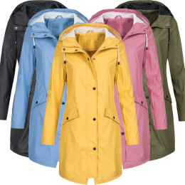 Outdoor windproof, quick drying Hooded Slim Jacket