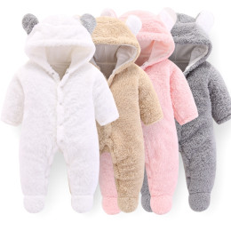 Baby Warm Fluffy Clothes