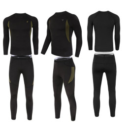 Men's Thermal underwear set quick drying Warm Soft