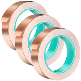 Single-lead copper foil tape, high temperature resistance and interference prevention