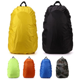 Candy Color and Seamless Construction Waterproof Rainproof Backpack Rucksack Rain Dust Cover Bag for Camping Hiking
