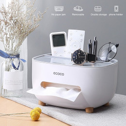 Creative multifunctional storage tissue box