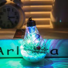 Christmas Decorations LED Decorative Transparent Christmas Ball Light