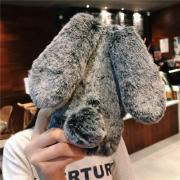 Fluffy Bunny Phone Case