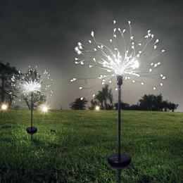 LED Solar Fireworks Light Lawn Garden string light Waterproof DIY Dandelion Decor