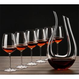Handmade Glass Wine Decanter
