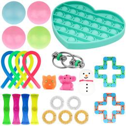 Decompression toy set