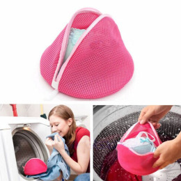 Double layer bra underwear panties wash bag