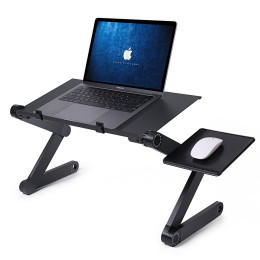 360 Degree Foldable Computer Desk Great alternative to traditional bulky standing desk