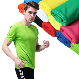 Running Men Quick Dry T-Shirts