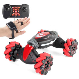 Gesture Detection Trick Remote Control Car Kids Light Music Torsion Deformation Car Climbing Off-Road Vehicle Model