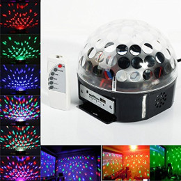Rotating Disco party light
