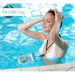 Diving swimming transparent mobile phone waterproof bag