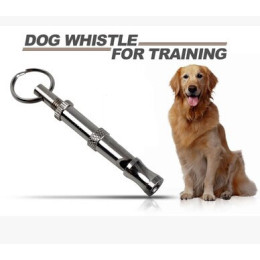 Pet Dog Training UltraSonic Keychain Whistle