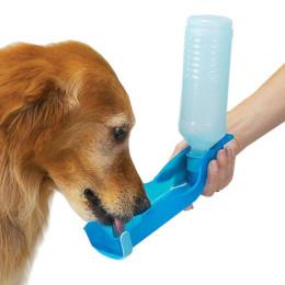250ml Foldable Pet Dog Cat Water Drinking Bottle Dispenser Travel Feeding Bowl