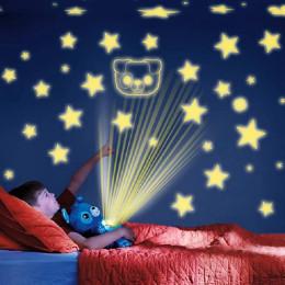 Children's Cartoon Plush Starry Sky Dream Projection Lamp Doll Light Comfort Toy
