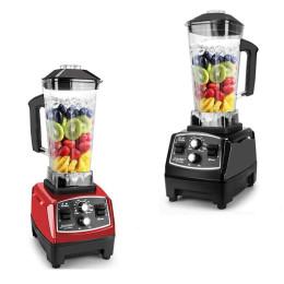 Ultra-kraftfuld blender   Timerblander 3HP 2200W Heavy Duty Commercial Grade Blender Mixer Juicer Frugt Food Processor Ice Smoothies BPA-fri 2L krukke