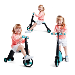 Smart 3-i-1 børnescooter