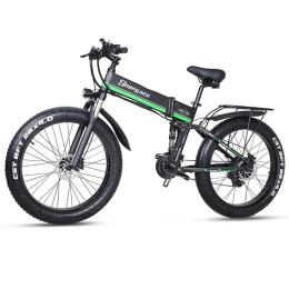 Kraftfuld elektrisk mountainbike