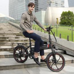 "2020 - 20"" El Cykel, 350W Motor - 60 km Rækkevidde"