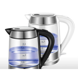 Quick Heating Electric Kettle (1.7L) with Blue LED Light