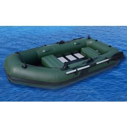 Oppustelig og slidstærk gummibåd