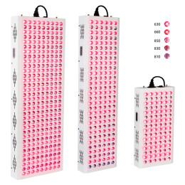 Ny 300W 500W 1000W 1500W 630nm 660nm Rødlysterapi 810nm 830nm 850nm Infrarød LED-lysterapi Fuld krop, Røde vækstlys