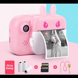 Sjovt polaroid-kamera til børn
