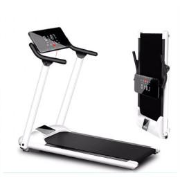 Sammenfoldeligt løbebånd   Løbebånd Multifunktionelt Sammenfoldeligt Mini Fitness Hjem Løbebånd Indendørs Træningsudstyr Gym Folding House Fitness Løbebånd