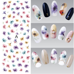 DIY Designer Water Transfer Nails Art Sticker