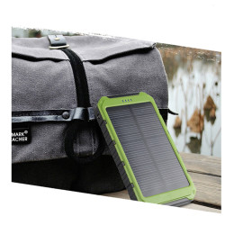 Dual USB 10000mAh Solar Charger Power Bank