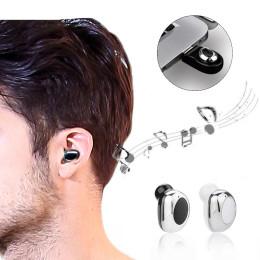 M18 Mini Wireless Bluetooth V4.1 Unilateral Earphone USB Magnetic Charging Headphone