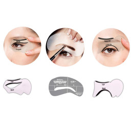 Eyebrow Template Stencils and eyeliner stencil tool