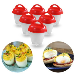 6PCS Non-stick Egg Egglettes Cooker