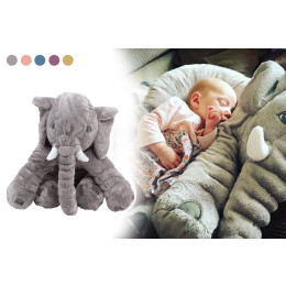 Cartoon Plush Elephant Doll Pillow