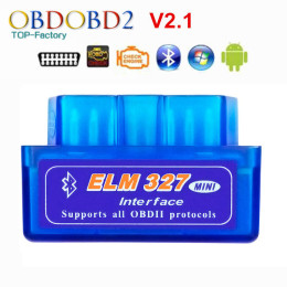 Super Mini ELM327 Bluetooth V2.1 diagnose your car's problems For Android For OBDII Protocol