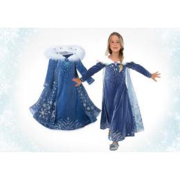 Blue Elsa  Cinderella Dress  For Girls