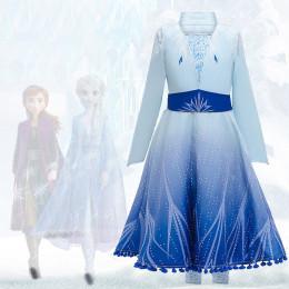 Elsa Girls Role-Play Dress for Frozen2