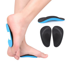 EVA sports palm and foot pad flat arch support half pad